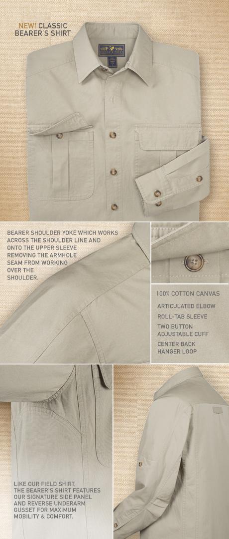All-Terrain Bearer's Shirt Details