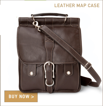 Leather Map Case