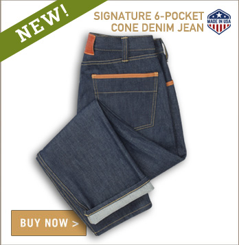 Signature Six-Pocket Jean