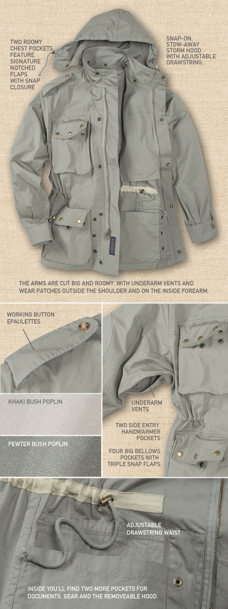 Trooper Jacket Details