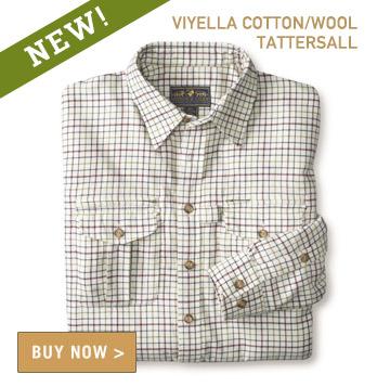 Signature Field Shirt - Viyella Tattersall Classic Cream