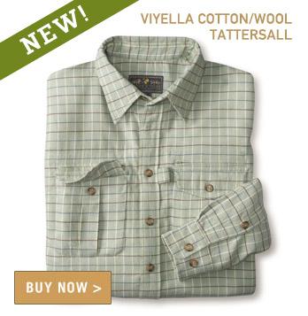 Signature Field Shirt - Viyella Tattersall Highlands Heritage Green