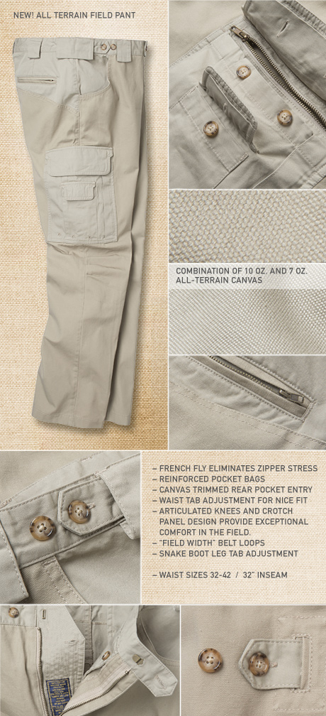 All-Terrain Field Pant Details