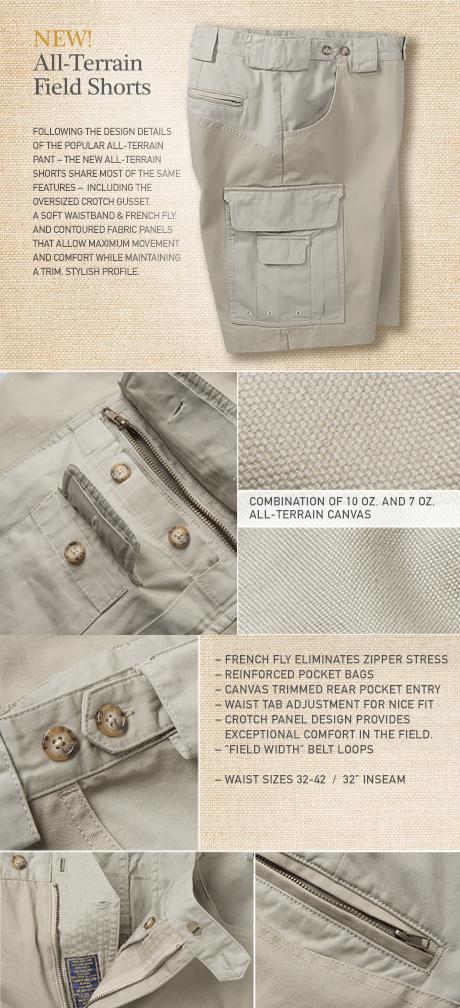 All-Terrain Field Shorts Details