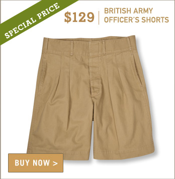 British Army Officer's Short