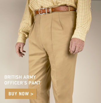 British Army Officer's Pant