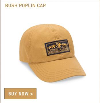 Bush Poplin Cap