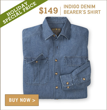 Indigo Denim Bearer's Shirt