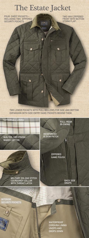 The Estate Jacket Details