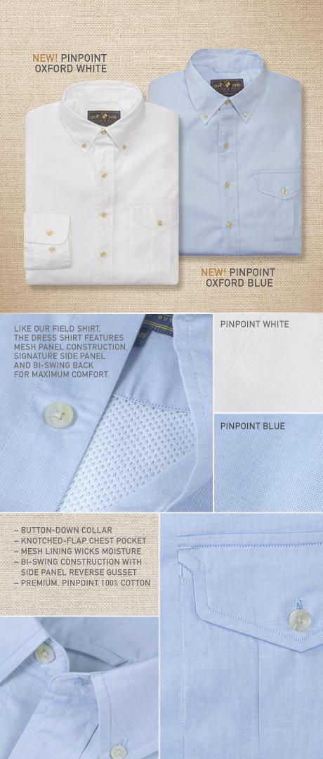 Signature Field Dress Shirt Details