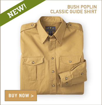 Classic Bush Poplin Guide Shirt