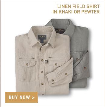 Signature Field Shirt in Linen