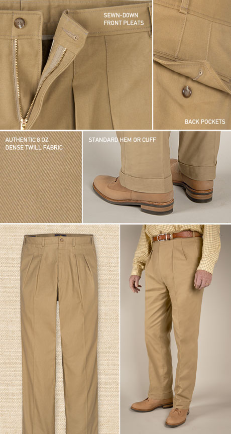 British Army Officer's Pants Details