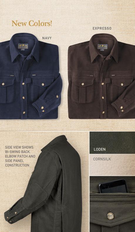 Moleskin Field Shirt Details