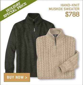 Signature Muskox Sweater
