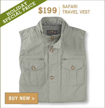 Signature Safari Travel Vest