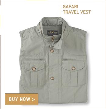 Signature Safari Travel Vest