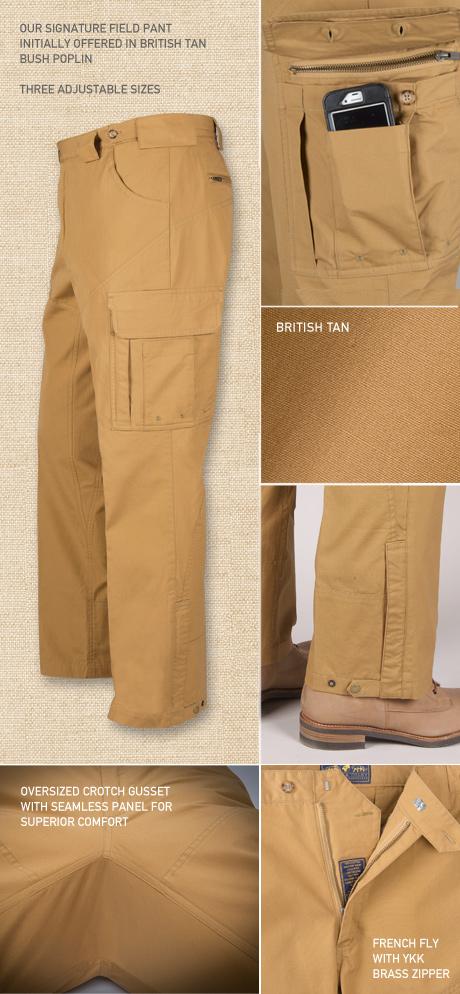 Signature Field Pant Details