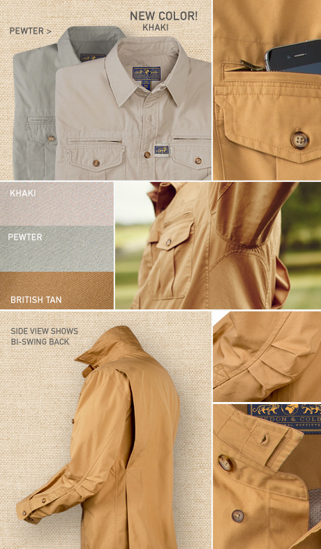 Signature Field Shirt Details